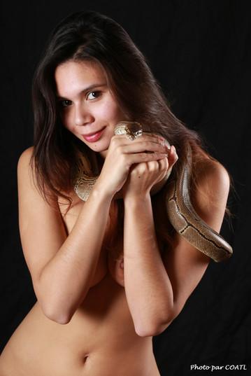 Pocahontas et le python