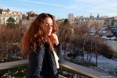 Juliya au balcon