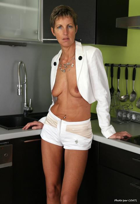 Isadora à la cuisine