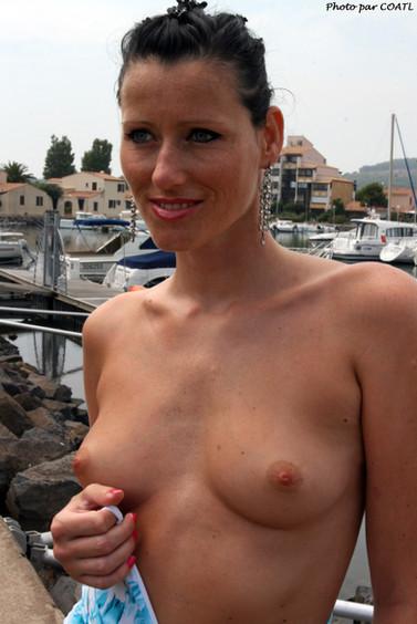 Silvia au soleil