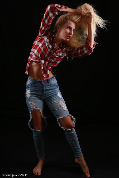 Nata, chemise à carreaux
