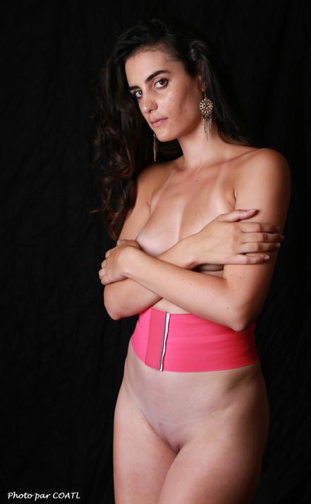 Olivia Jane et la ceinture rose