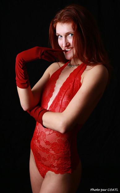 Gants rouges