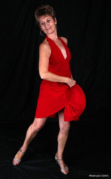 Lory, la petite robe rouge