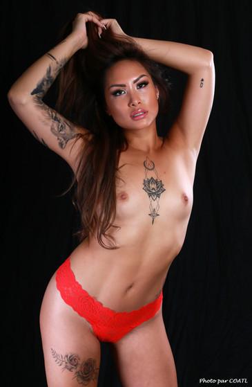 Dicapria, culotte rouge