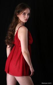 Silvy Sirius en rouge