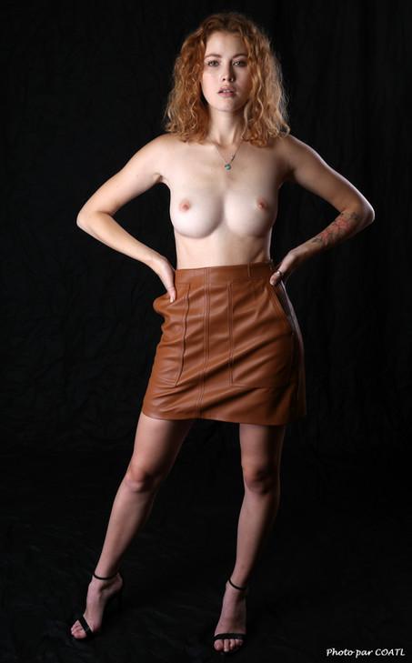 Heidi Romanova sans sa petite laine