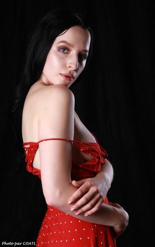 La petite robe rouge