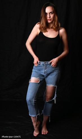 Nasita et son jean