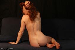 Amanita Artemisia sur le canapé