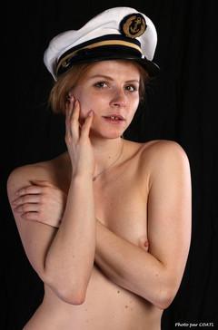 Takha Filatova dans la Marine