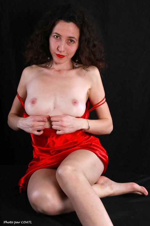 Rosita en rouge