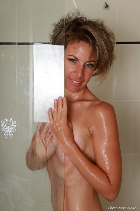 A la douche !