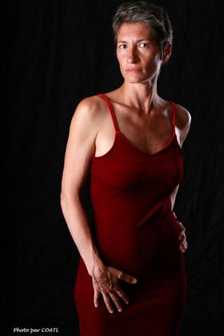 Céline Pivoine la rouge