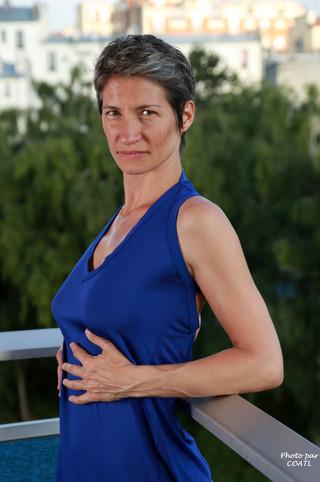 Céline Pivoine la bleue