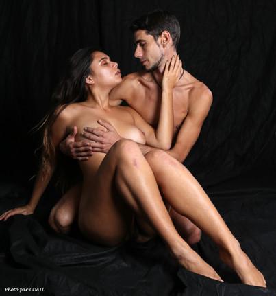 Pocahontas & Baron, couple sensuel