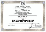 Praticien Hypnose Ericksonienne IFHE