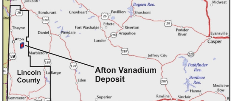 Golden Share Resources and Forum Energy Metals Acquire Wyoming Vanadium Resource