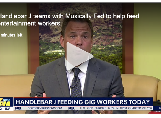 Handlebar J teams with Musically Fed to help feed entertainment workers | Fox 10 Phoenix