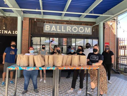 Cocina 10 Burritos Raise Funds for Musically Fed