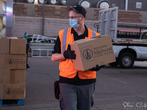 Evening Distribution at Rhino Staging in Tempe