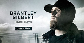 """Congratulations to our partner, Brantley Gilbert, on the release of his new single """"Hard Days""""!"""