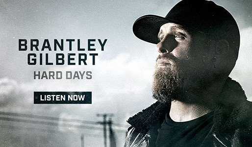 "Congratulations to our partner, Brantley Gilbert, on the release of his new single ""Hard Days""!"