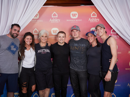 HUNTER HAYES AND CODY JOHNSON LEAD FIRST-EVER SOLD-OUT CO-HEADLINING CONCERT AT ASCEND AMPHITHEATER