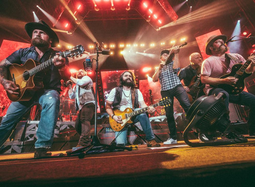 On Tour With Zac Brown Band.