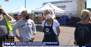 Local Culinary Rockstar, The Duce, Headlines Musically Fed's 5th Meal & Grocery Distribution