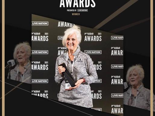 Musically Fed Founder, Maria Brunner, Honored at 2021 Pollstar Awards