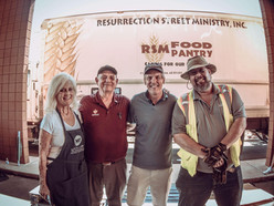 Pollstar Feature on Musically Fed's Final Drive-Through Food Distribution in Phoenix