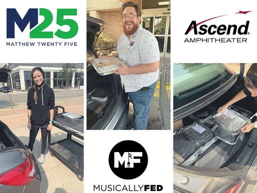 Musically Fed Partners with Ascend Amphitheater in Nashville on Sustainability Efforts