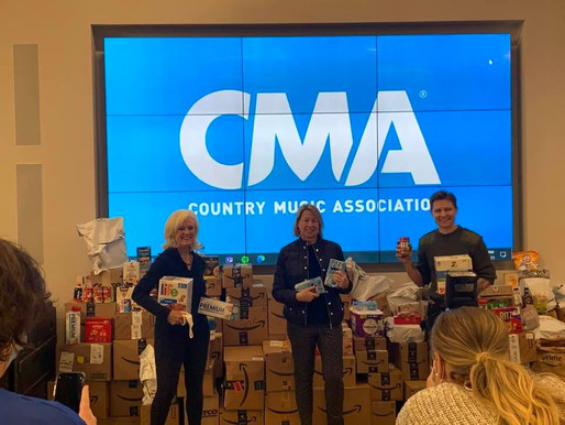 THE CMA KICKS OFF WEEK-LONG DONATION DRIVE BENEFITTING MUSICALLY FED!
