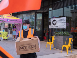 We had a blast last week at our drive-through distribution in Tucson!