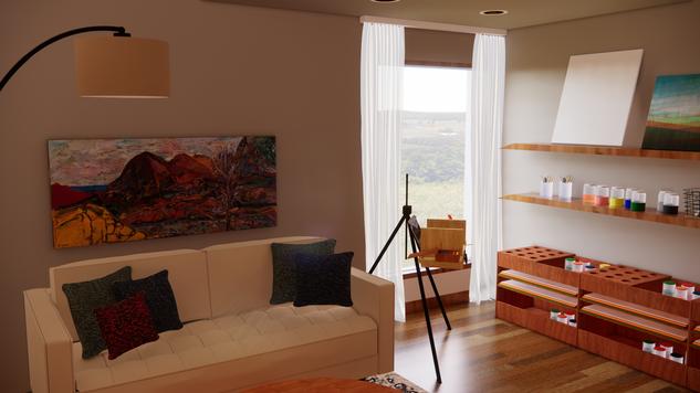 Studio Window View