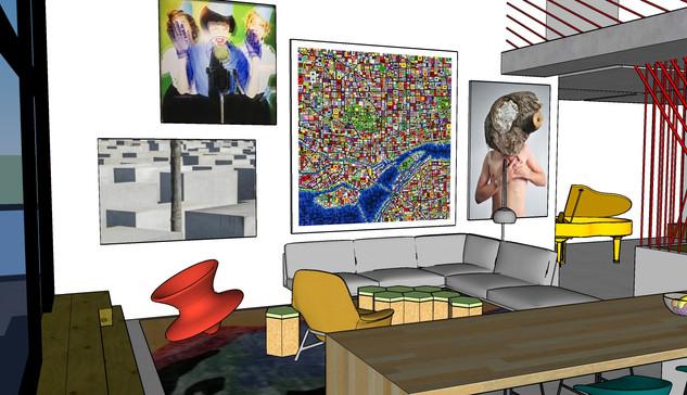 West Queen West Loft - Living Room