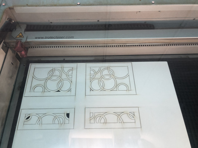 Lamp Shade - Laser Cutting