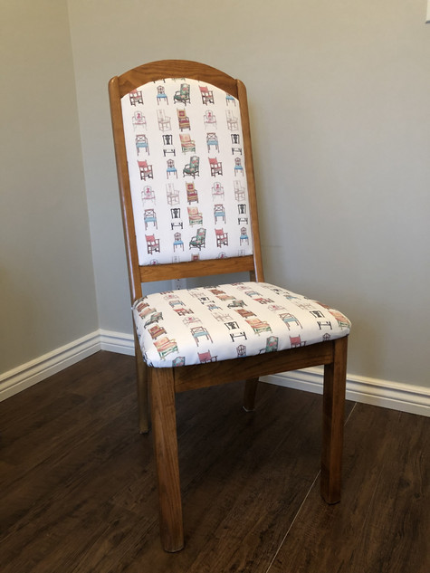 Chair Pattern Upholstering 2