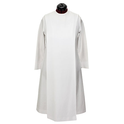 2 Pc Ministry Dress with Overlay