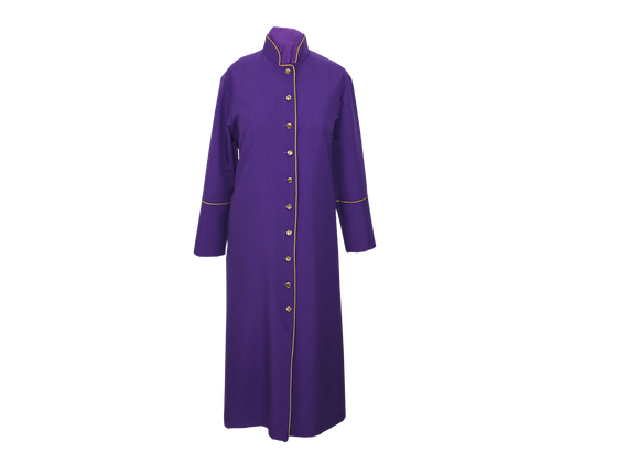 Purple and Gold Robe Dress/Cape Available