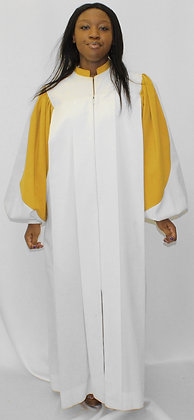 Choir Robe with 2 Color Sleeves