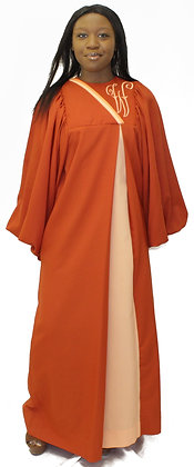 Choir Robe with Front Pleat