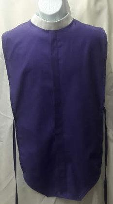 Purple Clergy Full Collar Shirt Front