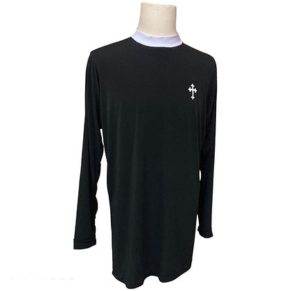 Long Sleeve Pullover Clergy Shirt