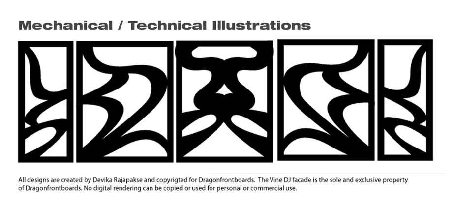 Technical/Mechanical Illustrations