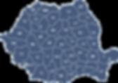 Harta cu judetele sau orasele unde pot fi stabilite intalniri de predare ale lucrarilor de licenta, lucrarilor de disertatie, masterat, doctorat sau lucrarilor de grad.