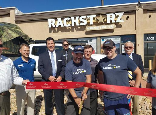 RackStarz Ribbon Cutting with the Colorado Springs Chamber & EDC