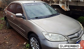Honda Civic Lx 1.7, 2004/2005, Placa Final 0 (Pr),
