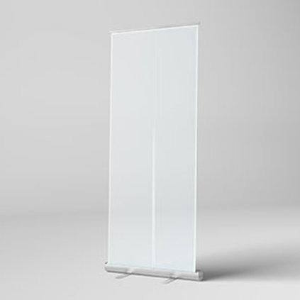 Clear Protective Banners - 800mm